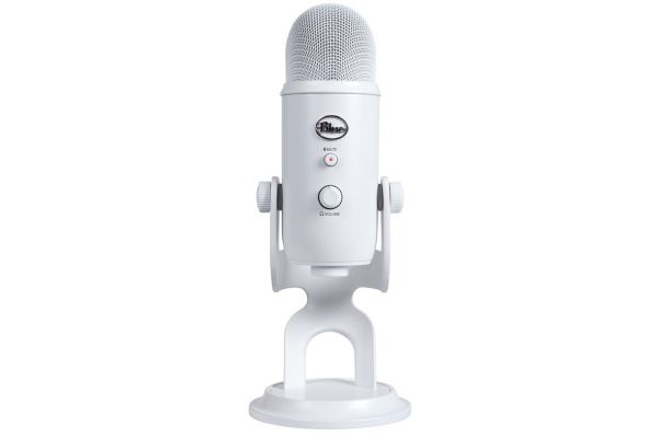 Blue Microphones Whiteout Edition Yeti USB Microphone - YETIWHITEOUT