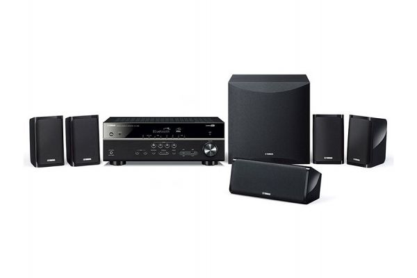 Large image of Yamaha Black 5.1-Channel Home Theater System - YHT-4950UBL