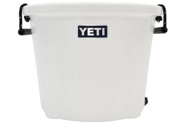 Large image of YETI Tank 45 Ice Bucket Cooler In White - 17045020000