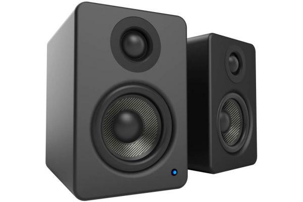 Large image of Kanto YU2 Powered Matte Black Desktop Speakers - YU2MB