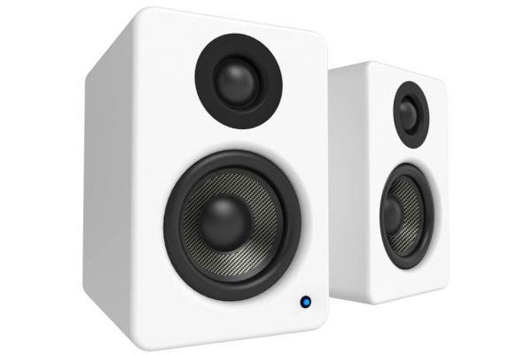 Large image of Kanto YU2 Powered Matte White Desktop Speakers - YU2MW