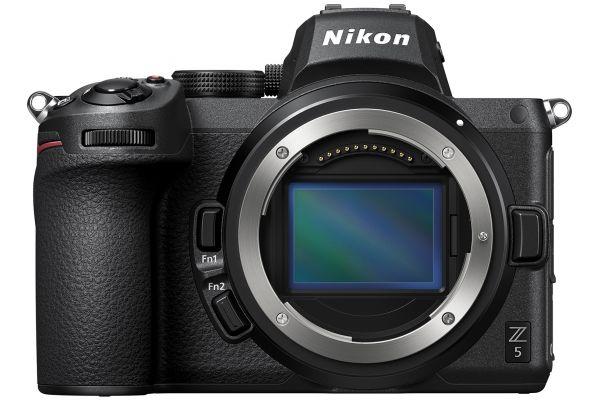Large image of Nikon Z 5 Black Mirrorless Digital Camera Body - 1649