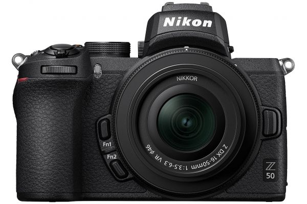 Large image of Nikon Z 50 Black Mirrorless Digital Camera With 16-50mm Lens - 1633