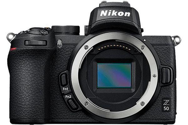 Large image of Nikon Z 50 Black Mirrorless Digital Camera - 1634