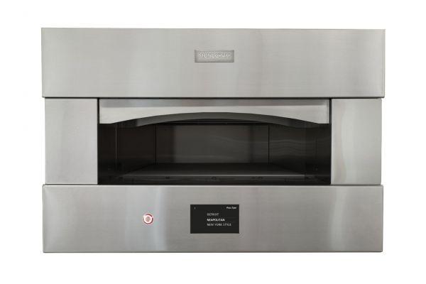 """Monogram 30"""" Stainless Steel Built-In Single Pizza Oven - ZEP30SKSS"""