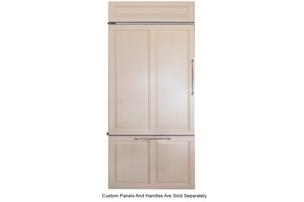 "Large image of Monogram 36"" Panel-Ready Left-Hinge Built-In Bottom-Freezer Refrigerator - ZIC360NNLH"