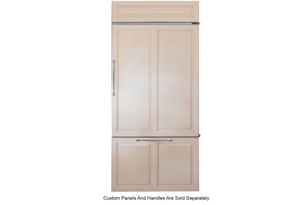 "Large image of Monogram 36"" Panel-Ready Right-Hinge Built-In Bottom-Freezer Refrigerator - ZIC360NNRH"