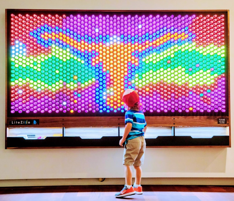 LiteZilla 8' x 6' Interactive Art Wall