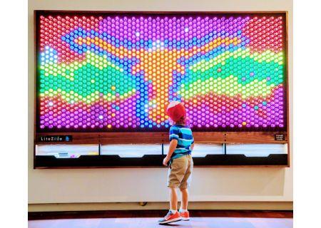 LiteZilla 6' x 5' Interactive Art Wall - LARGEZILLA