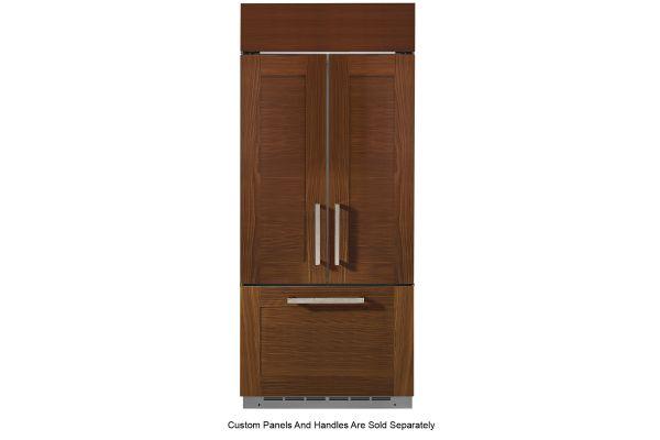 "Large image of Monogram 36"" Panel Ready Built-In French-Door Refrigerator - ZIP360NN"