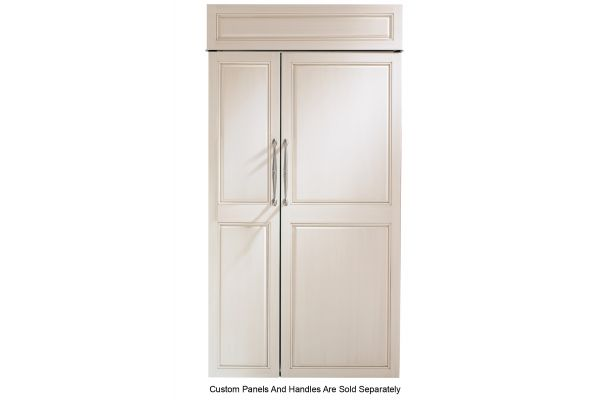 """Large image of Monogram 42"""" Panel Ready Smart Built-In Side-By-Side Refrigerator - ZIS420NNII"""