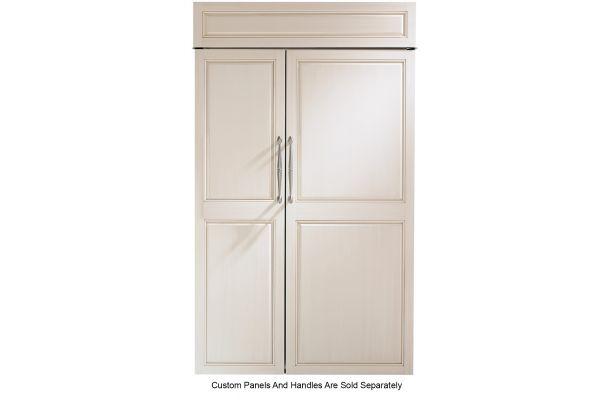 "Monogram 48"" Panel-Ready Smart Built-In Side-By-Side Refrigerator - ZIS480NNII"