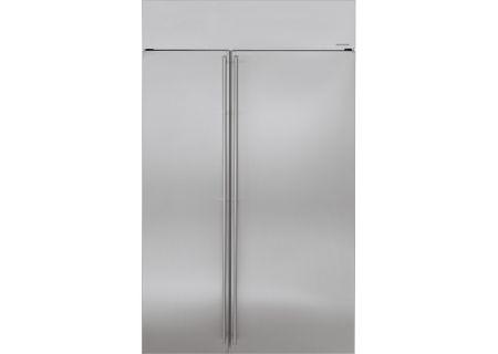 Monogram - ZISS480NKSS - Built-In Side-by-Side Refrigerators