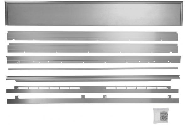Large image of Monogram Stainless Steel Panel Unification Kit - ZKBFN720NII