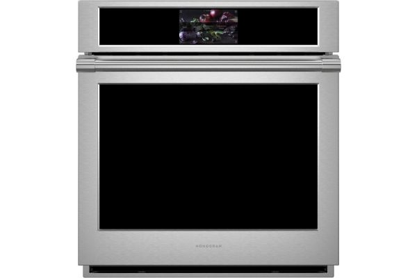 """Large image of Monogram Statement Collection 27"""" Stainless Steel Smart Electric Convection Single Wall Oven - ZKS90DPSN"""