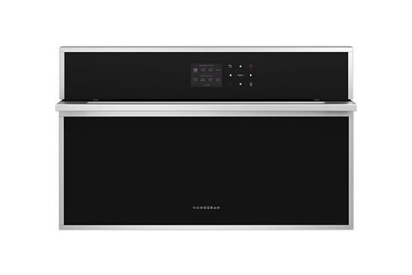 """Large image of Monogram 30"""" Minimalist Collection Stainless Steel Smart Steam Oven - ZMB9031SN"""