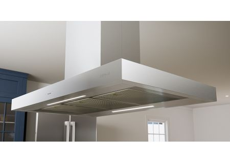 "Zephyr Essentials Collection Roma 36"" Stainless Steel Island Hood - ZRM-E36DS"