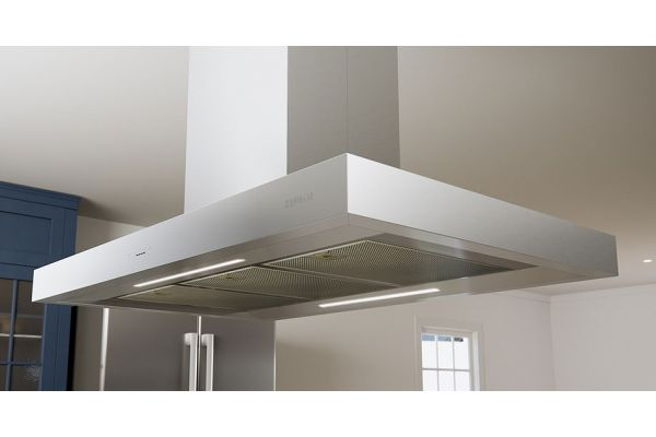 "Zephyr Essentials Collection Roma 42"" Stainless Steel Island Hood - ZRM-E42DS"