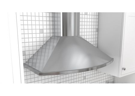 """Zephyr Essentials Collection Savona 30"""" Stainless Steel Wall Hood - ZSA-E30DS"""