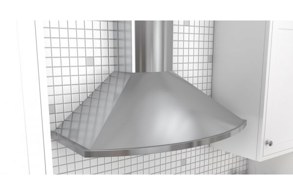 "Zephyr Essentials Collection Savona 36"" Stainless Steel Wall Hood - ZSAM90DS"