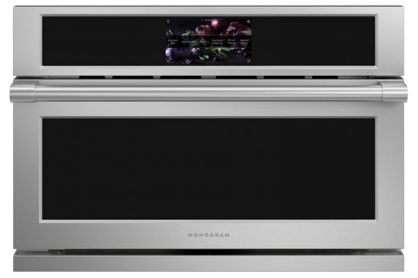 """Large image of Monogram Statement Collection 30"""" Stainless Steel Built-In Smart Oven With Advantium Speedcook Technology - 240V - ZSB9232NSS"""