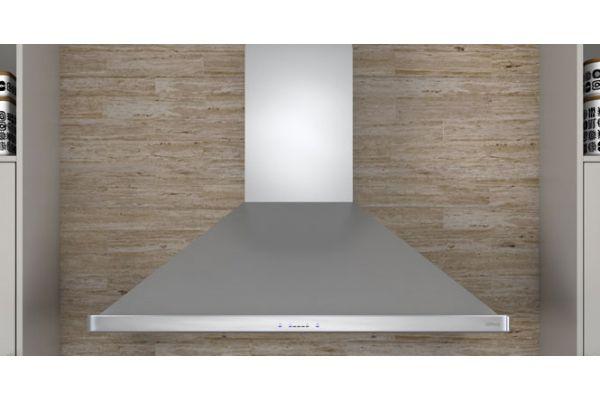 """Large image of Zephyr 30"""" Siena Stainless Steel Chimney Wall Hood - ZSIE30BS"""