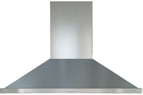 """Large image of Zephyr Siena Pro 48"""" Stainless Steel Island Hood - ZSLE48BS"""