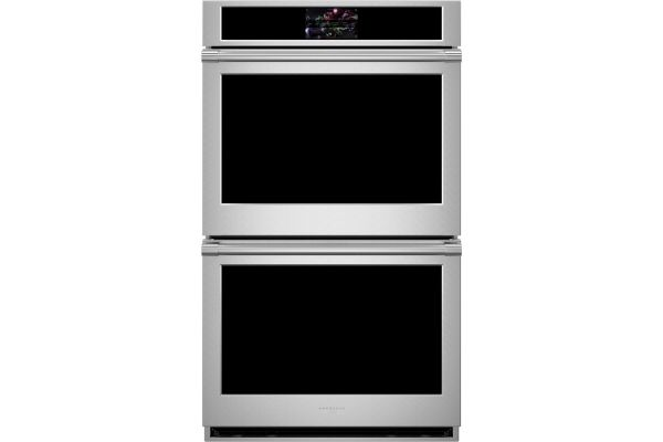 """Large image of Monogram Statement Collection 30"""" Smart Electric Convection Double Wall Oven - ZTD90DPSN"""