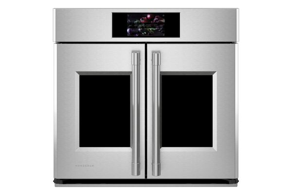 """Large image of Monogram Statement Collection 30"""" Stainless Steel Smart French-Door Electric Convection Single Wall Oven - ZTSX1FPSN"""