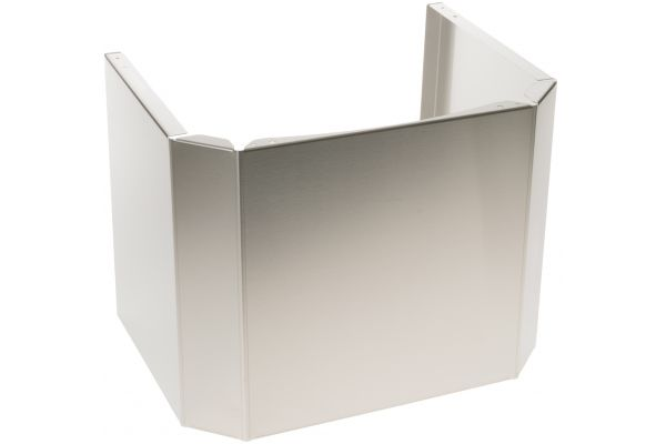"""Large image of Monogram Stainless Steel 12"""" Stackable Duct Cover - ZX36DC12J"""