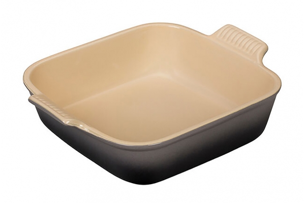 Large image of Le Creuset Heritage 3 Qt. Oyster Square Dish - PG0800-237F