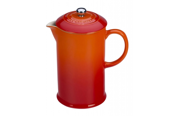 Large image of Le Creuset 34 Fl. Oz. Flame French Press - PG8200CB-102