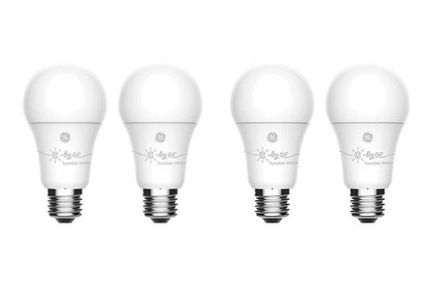 C By GE A19 4-Pack Bluetooth Tuneable Smart Bulb - 93096437