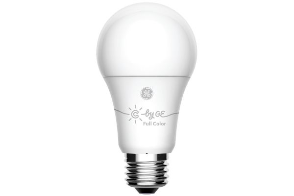 Large image of C By GE A19 Single Bluetooth Color Changing Smart LED Bulb - 93103486
