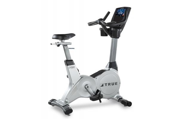 Large image of TRUE Fitness ES900 Upright Stationary Bike w/ Trancend 9 Display - ES900U9T