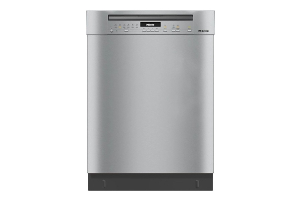 """Large image of Miele 24"""" Clean Touch Steel Pre-Finished Dishwasher - 11387580"""