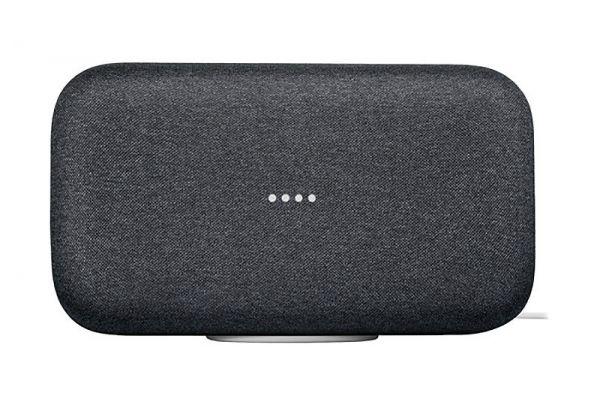 Large image of Google Home Max Charcoal Multiroom Wi-Fi Speaker - GA00223-US