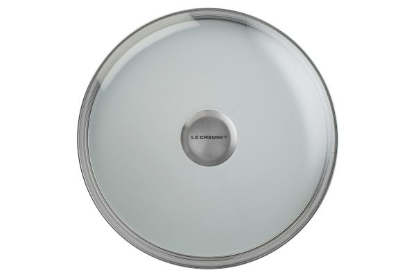 """Large image of Le Creuset 10"""" Glass Lid With Stainless Steel Knob - GL5000-26"""