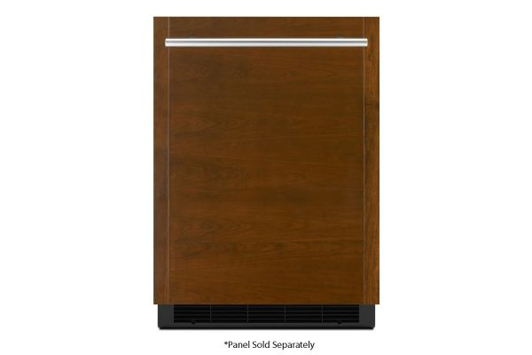 "Large image of JennAir 24"" Panel-Ready Solid Door Left-Hinge Undercounter Refrigerator - JURFL242HX"