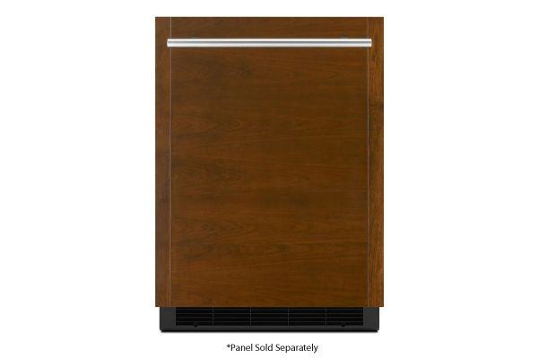 "Large image of JennAir 24"" Panel-Ready Solid Door Right-Hinge Undercounter Refrigerator - JURFR242HX"