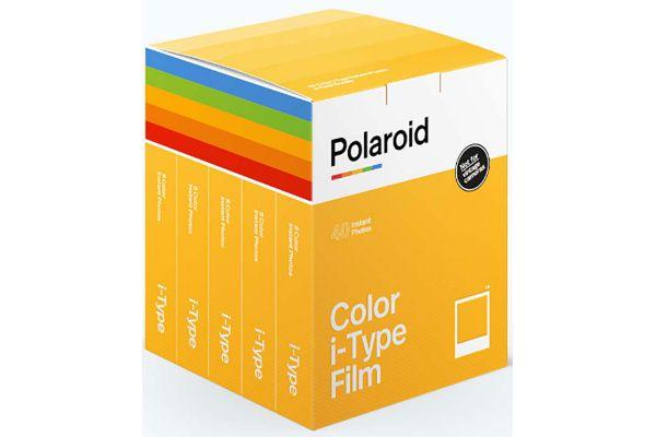 Large image of Polaroid Originals OneStep 2 i-Type Color Film 5 Pack - PRD6010