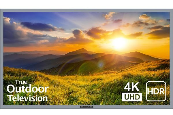 "Large image of SunBriteTV 55"" Silver Signature 2 Series LED HDR 4K Partial Sun Outdoor HDTV - SB-S2-55-4K-SL"