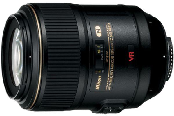 Nikon AF-S VR Micro-NIKKOR 105mm f/2.8G IF-ED Lens - 2160