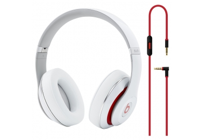 Beats By Dr. Dre White Studio Over-Ear Wired Headphones - MH7E2AM/A