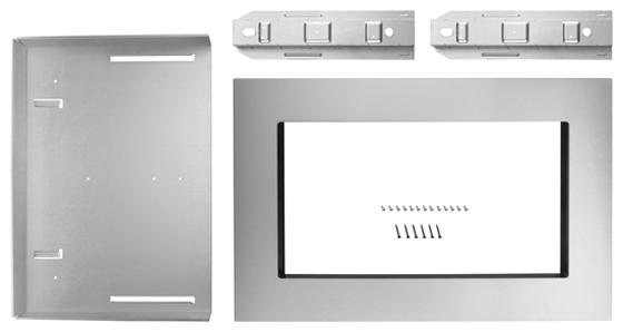 "Kitchenaid Microhood kitchenaid 30"" built-in microwave oven trim kit -mk2160as"
