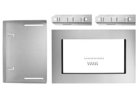 "KitchenAid 30"" Stainless Steel Built-In Microwave Oven Trim Kit - MK2160AS"
