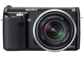 Sony - NEXF3KB - Digital Cameras