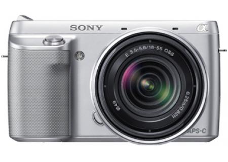 Sony - NEXF3KS - Digital Cameras