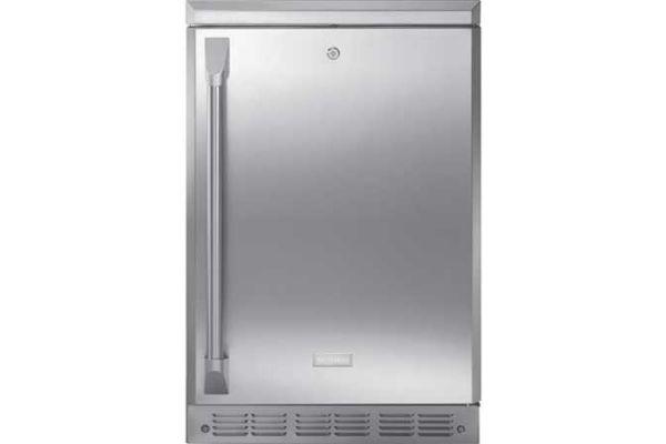 "Monogram 24"" Fresh-Food Under Counter Compact Refrigerator - ZDOD240HSS"
