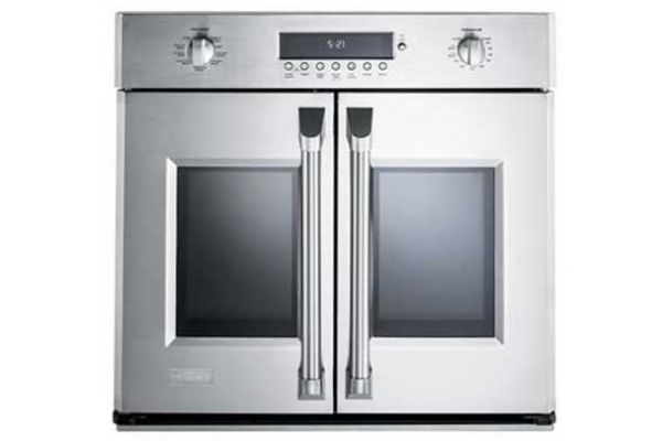 "Monogram 30"" Professional Stainless Steel French Door Wall Oven - ZET1FHSS"
